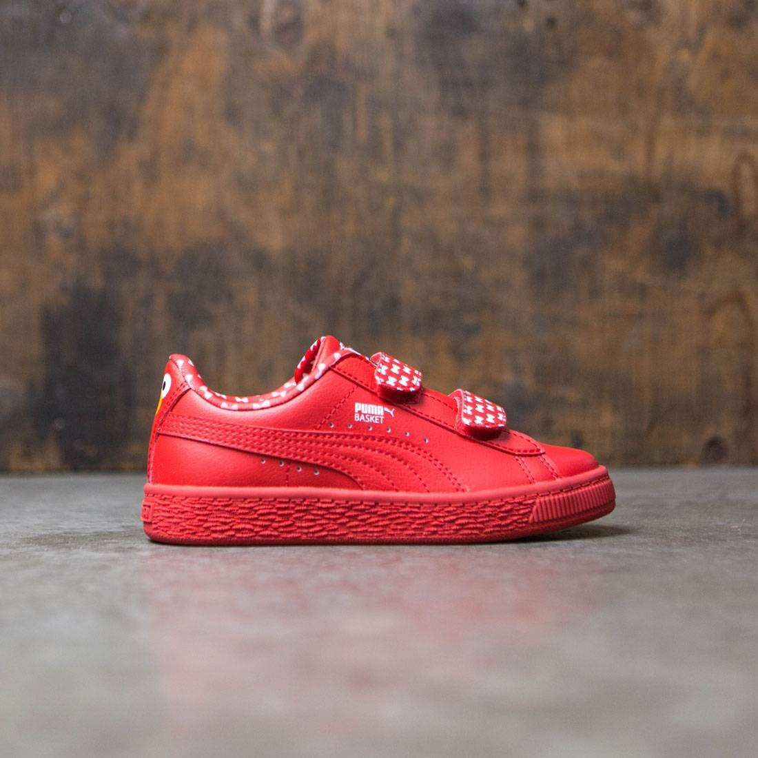 Puma x Sesame Street Little Kids Basket Mono V - Elmo (red) dc76abfd2