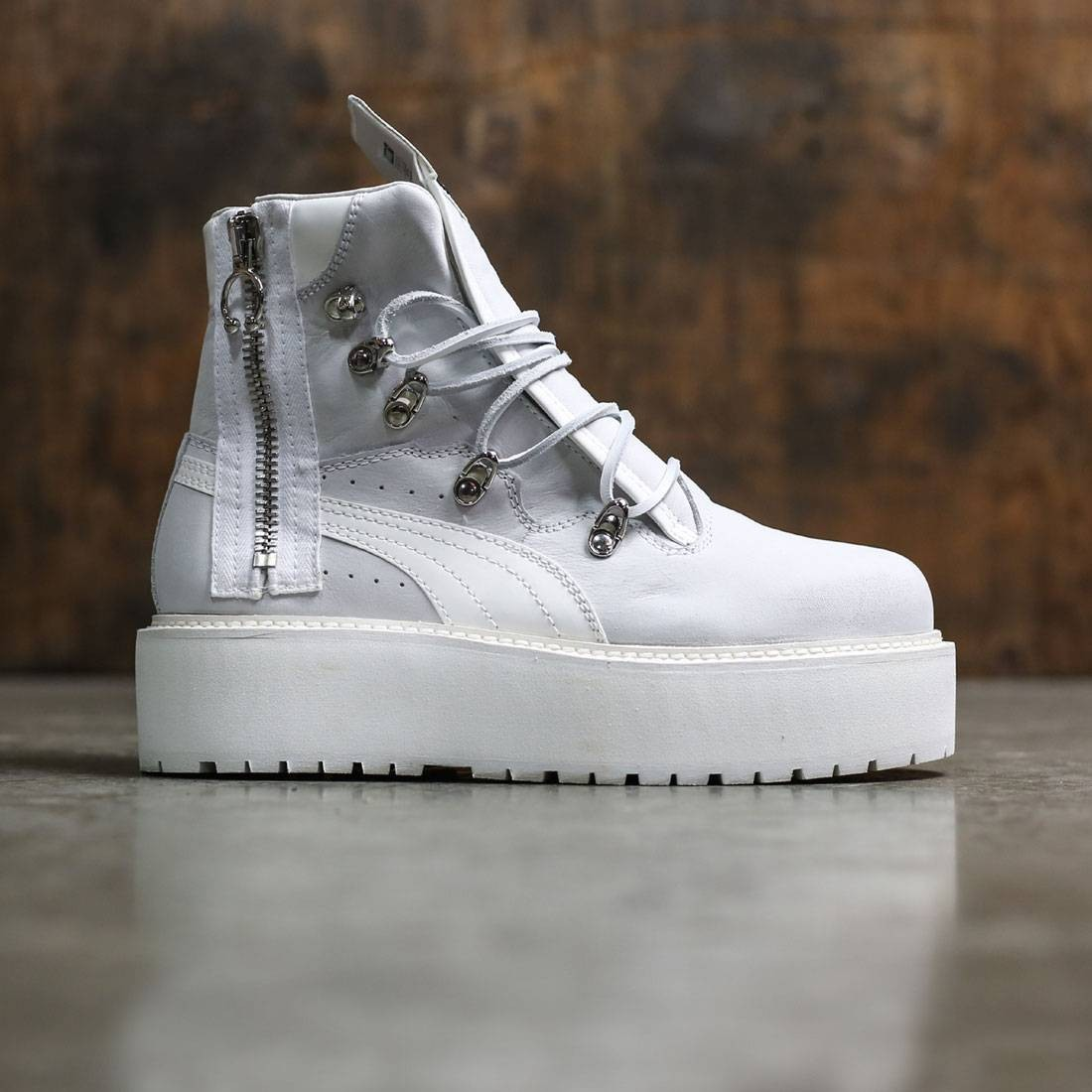 8b65ac3567b6 Puma x Fenty By Rihanna Women SB Boot white