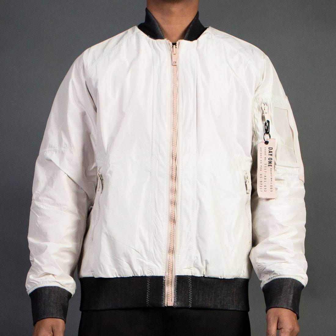 09c625a9f774 Adidas Consortium Day One Men Reversible Bomber Jacket brown clear brown  dust pearl