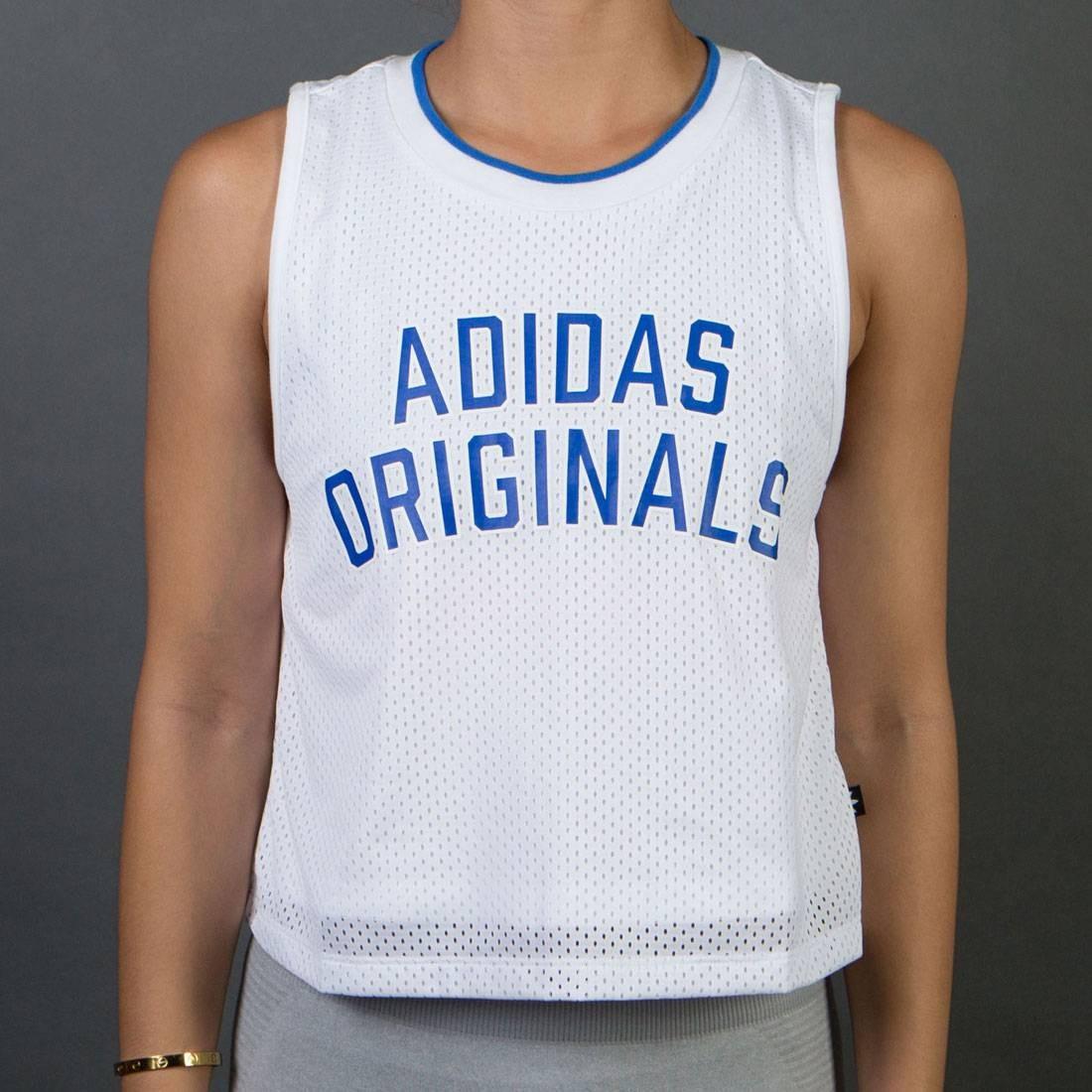 Adidas Women Adidas Original Tan Top T-Shirt (white)