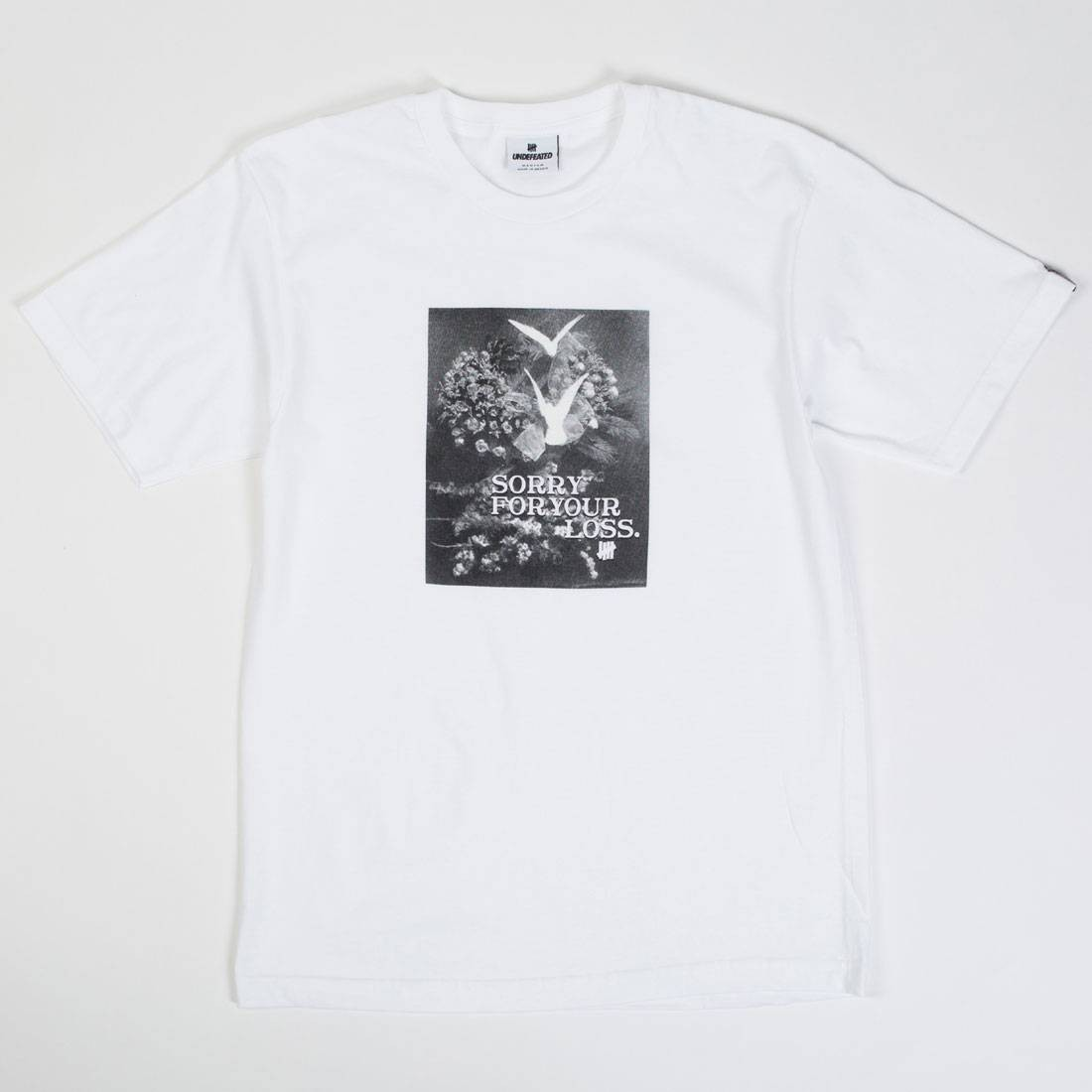 Undefeated Men Your Loss Tee (white)