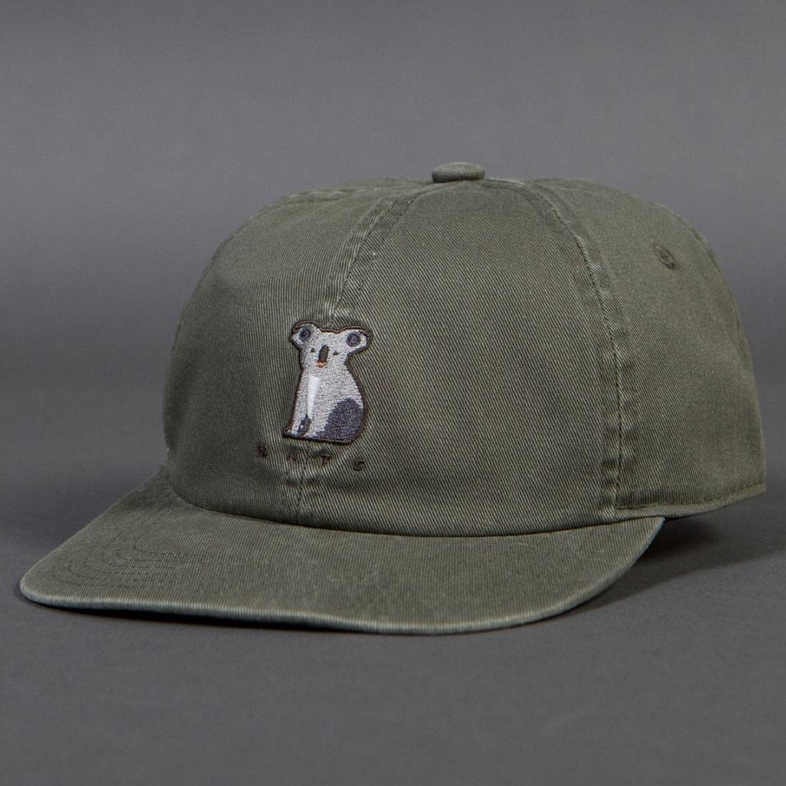 Barney Cools Mate Shallow Ball Cap (green / seagrass)