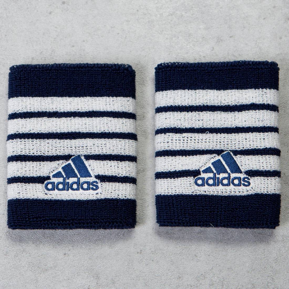 Adidas x Pharrell Williams New York Wristband (white / chalk white / navy)