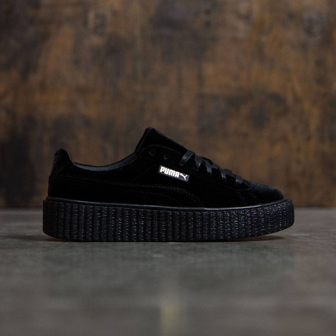 Puma x Fenty By Rihanna Women Creeper Velvet black velvet black ebf179be6
