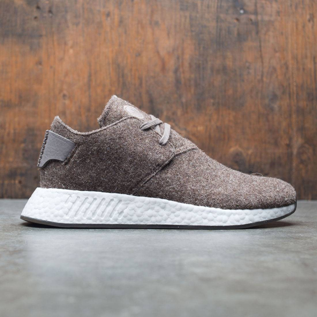 Adidas x Wings + Horns Men NMD C2 (brown / simple brown / gum)