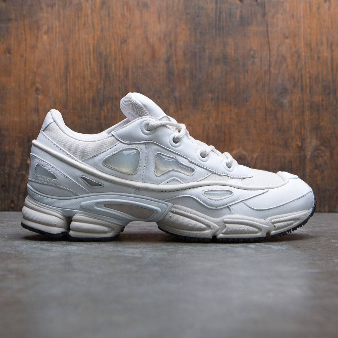 huge selection of 9d001 8fc2e Adidas x Raf Simons Men Ozweego III (white / talcs / footwear white)