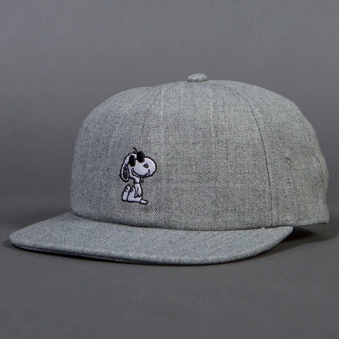 Vans x Peanuts Snoopy Jockey Cap gray heather 61310609d7ab