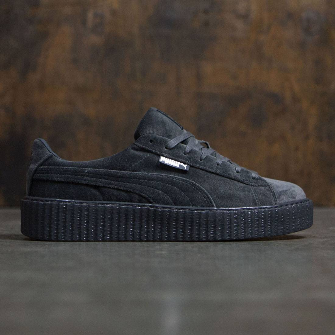 2d55172d9774 Puma x Fenty By Rihanna Men Creeper Velvet gray glacier