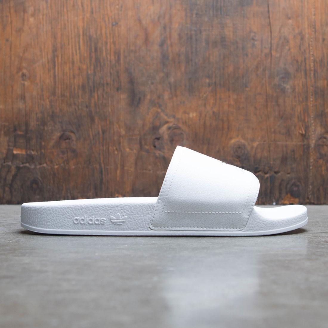 c933f64aaec9 Adidas Y-3 Men Adilette white core black footwear white