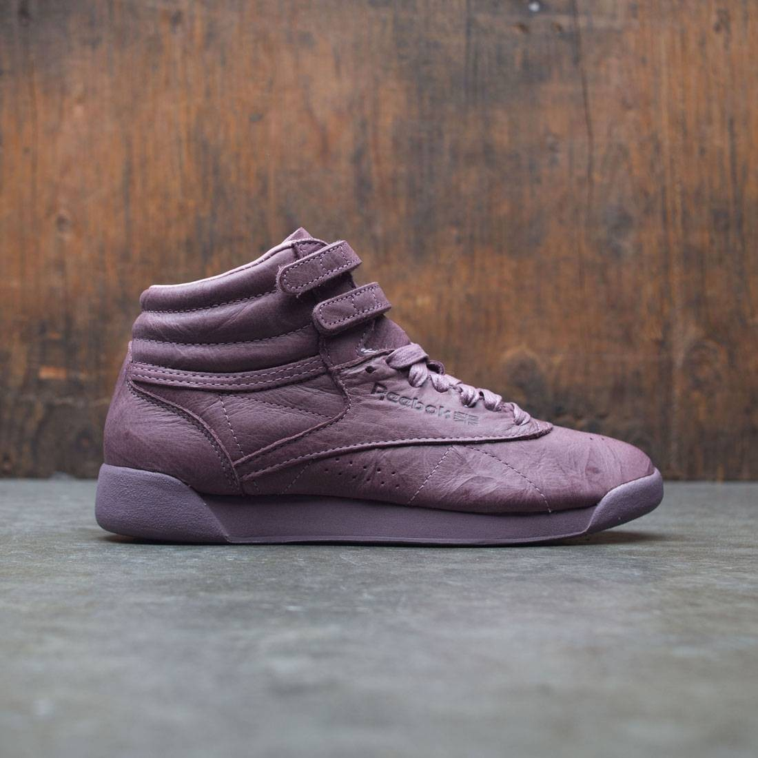 Reebok Women Freestyle Hi FBT burgundy smoky orchid 7b45ad395