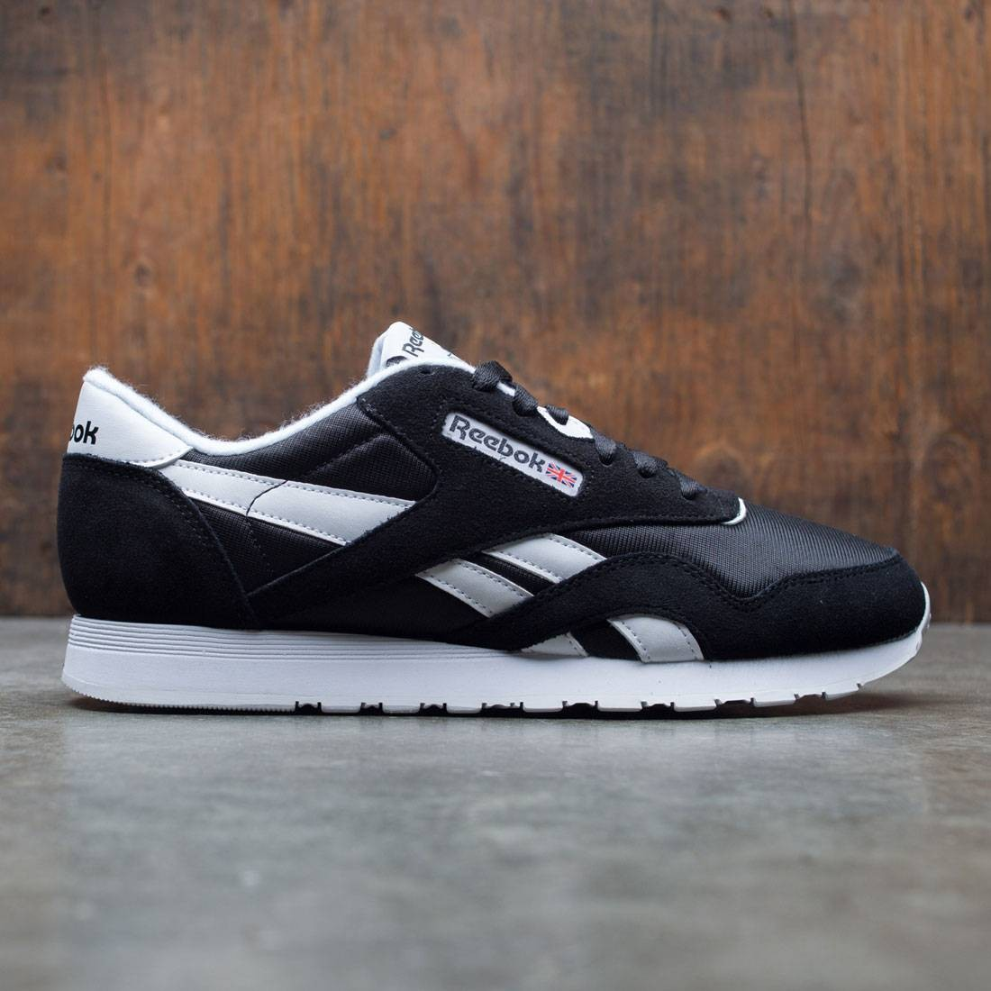 Reebok Men Classic Nylon (black white)