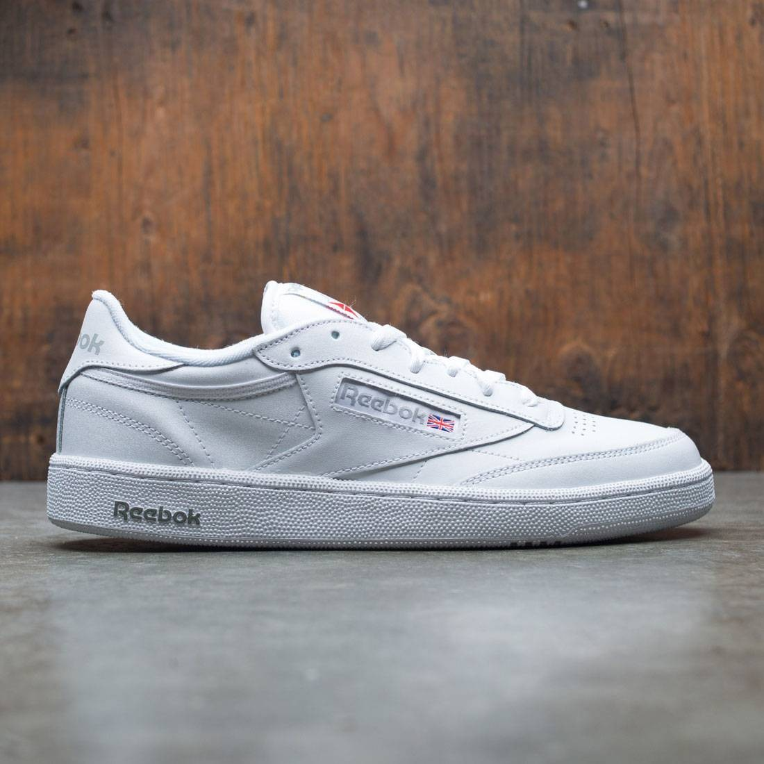 C Sheer Club Men Grey 85white Reebok PkOlwuZiTX