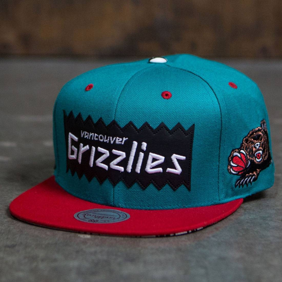 BAIT x NBA x Mitchell And Ness Vancouver Grizzlies STA3 Wool ... 159ca4eb9d9