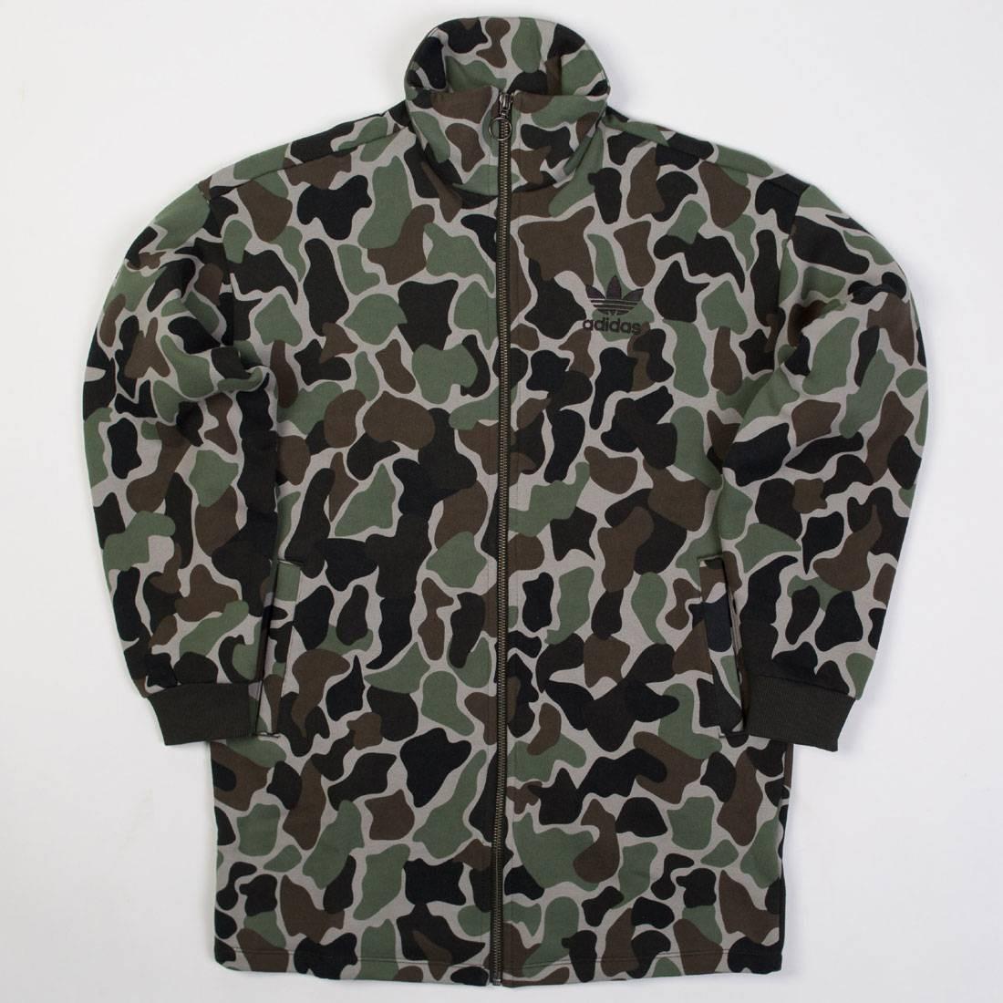 Adidas Women Tracktop Jacket (camo)