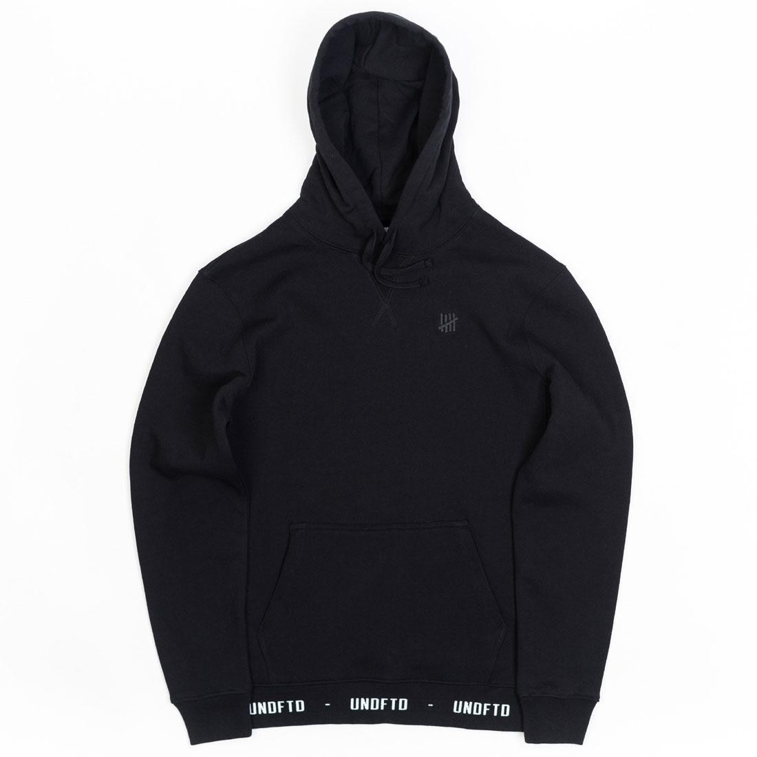 Undefeated Men UNDFTD Pullover Hoody (black)