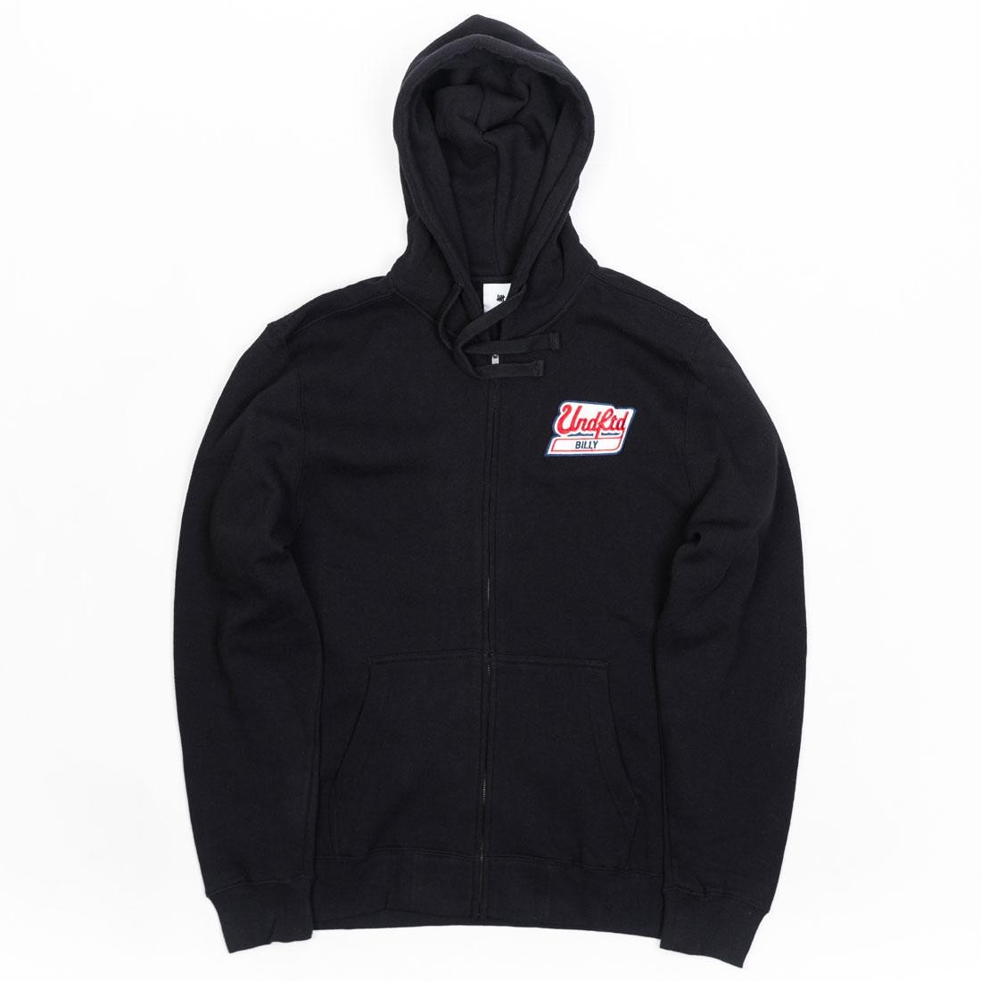 Undefeated Men Billy Patch Zip Hoody (black)