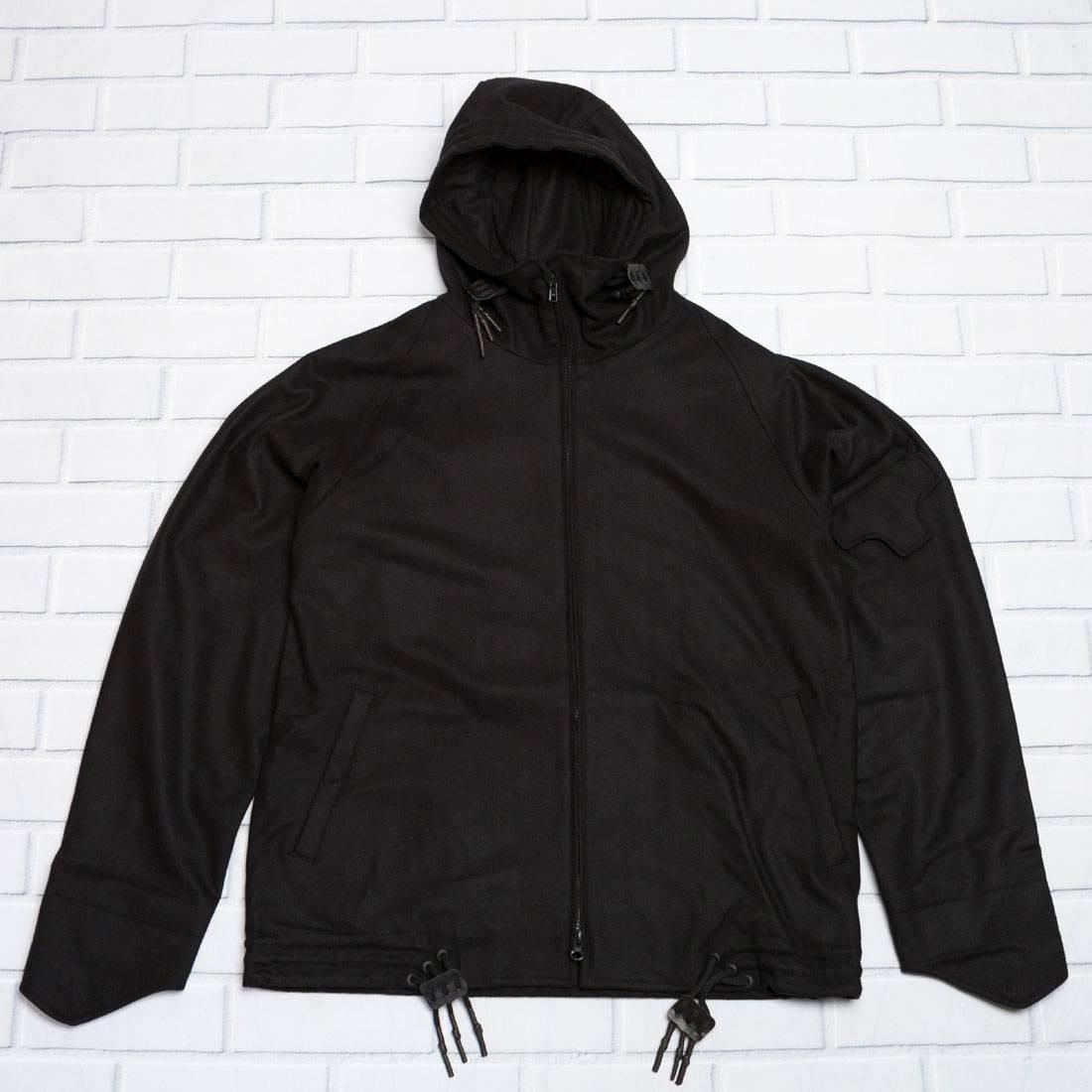 Adidas Y-3 Men 3-Stripes Wool Jacket (black)