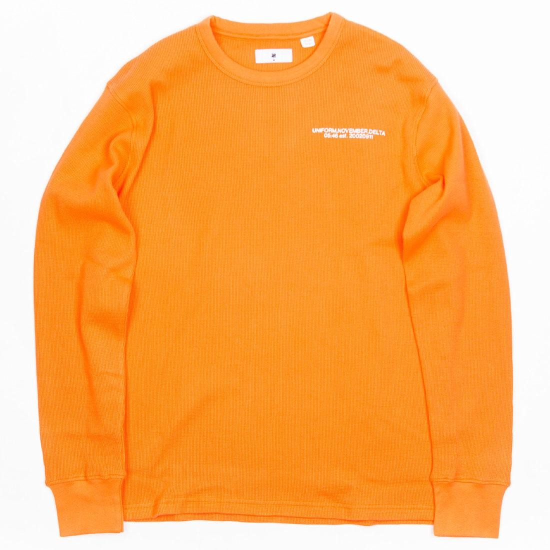 Undefeated Men UNDFTD Thermal Sweater (orange)