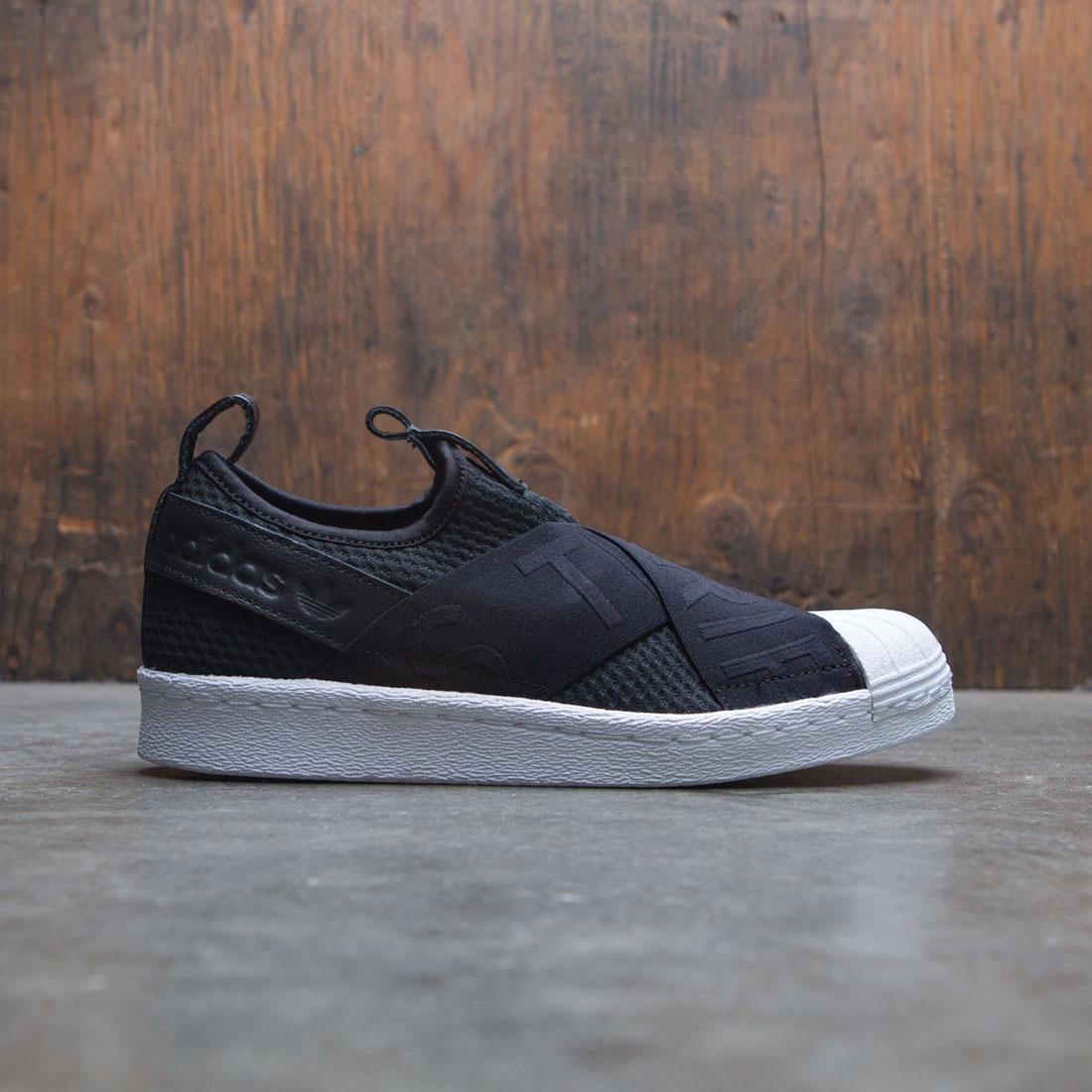 Adidas  mujer Superstar Kit escape Slip - on W negro Core Negro calzado blanco