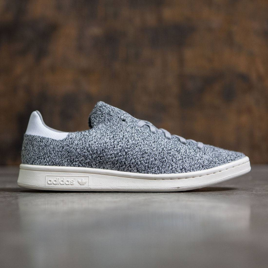 reputable site 1a34a 9f6f3 Adidas Men Stan Smith Primeknit (gray / multi solid grey / footwear white)