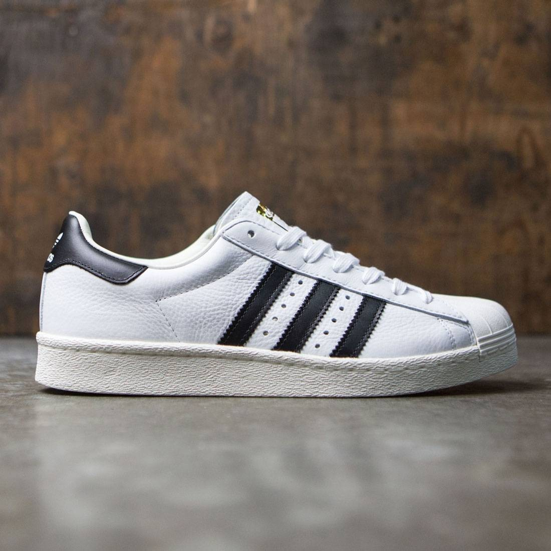 d8fd9130e Adidas Men Superstar Boost white core black gold metallic