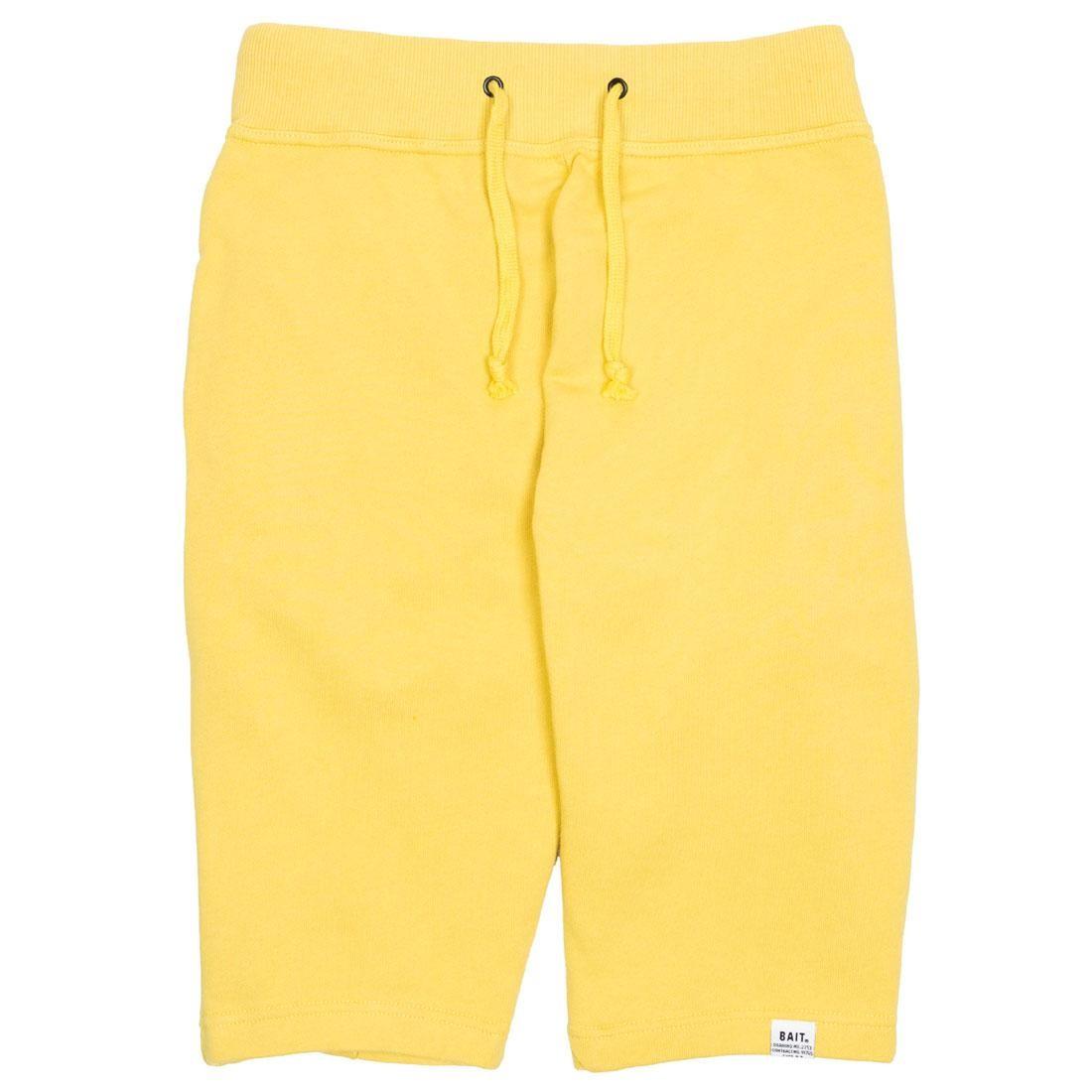 BAIT Men Sweat Shorts (yellow)