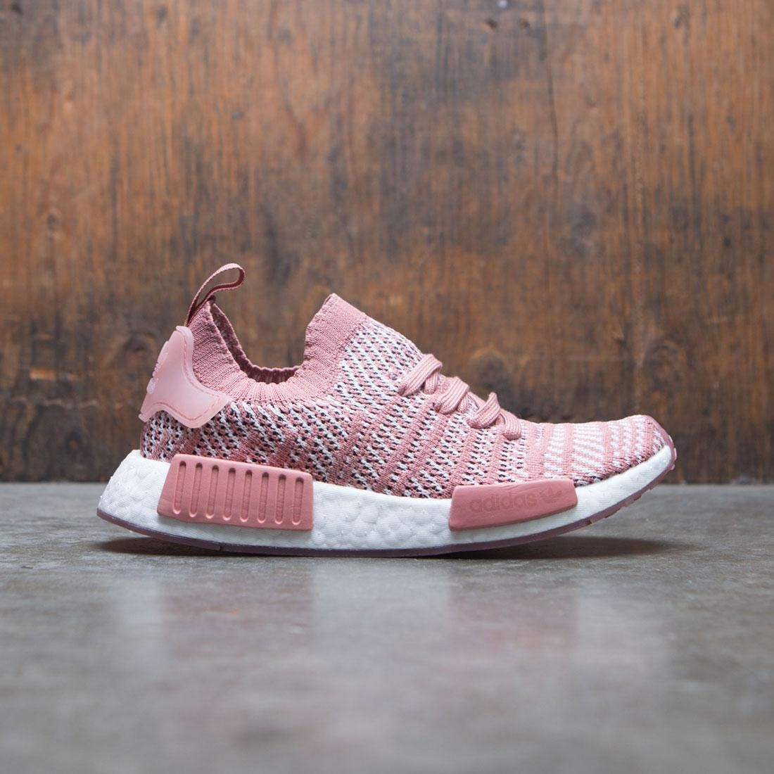 check out b3005 e10be Adidas Women NMD R1 STLT Primeknit W pink ash pink orchid tint footwear  white