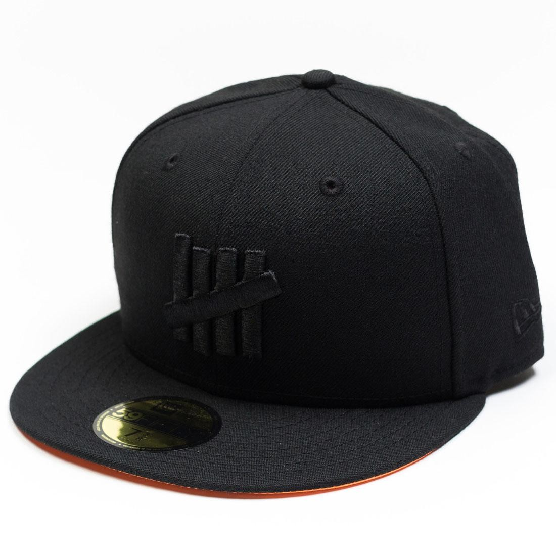 Undefeated x New Era Eject Fitted Cap (black)