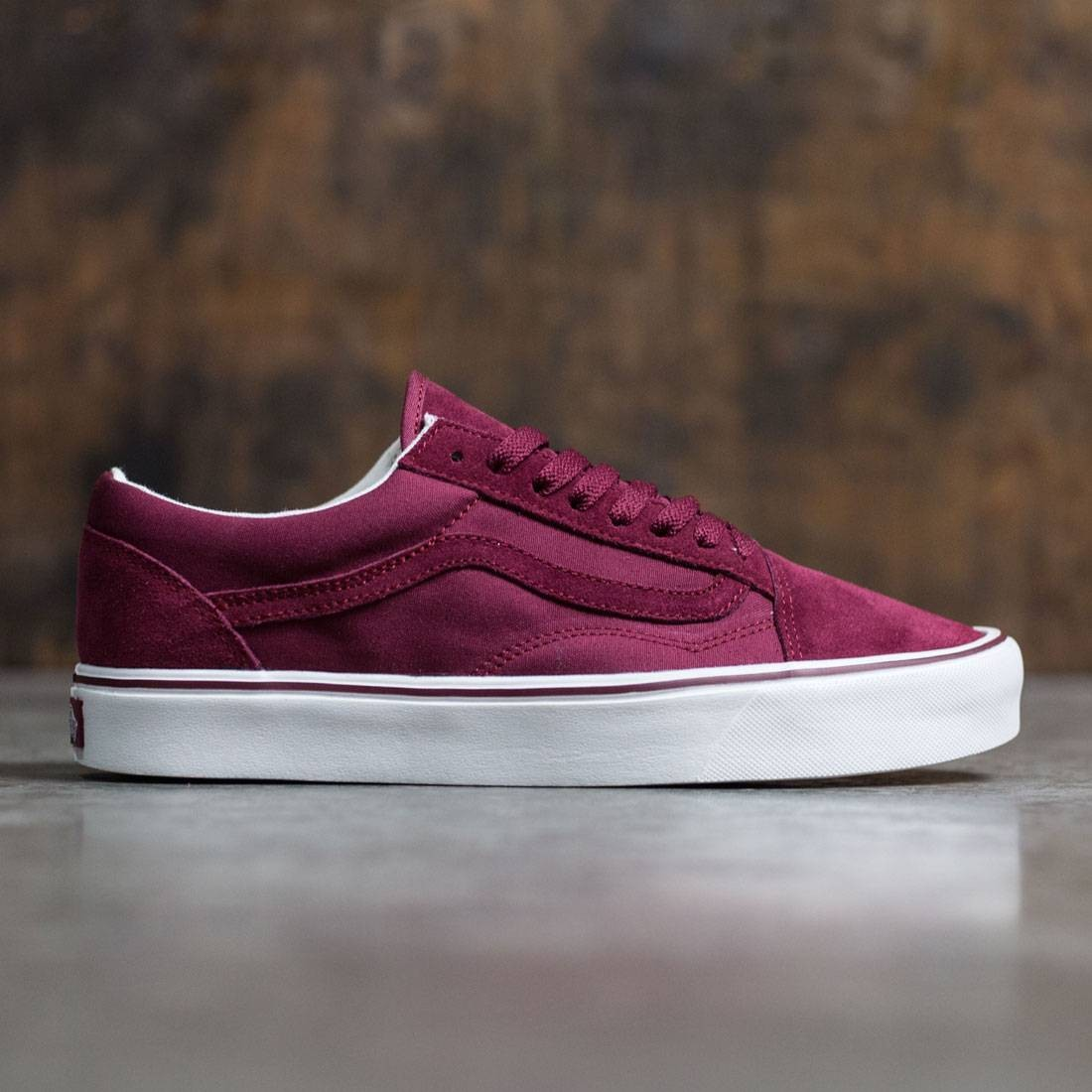Vans Men Old Skool Lite - Mono burgundy cordovan 833f8bba1