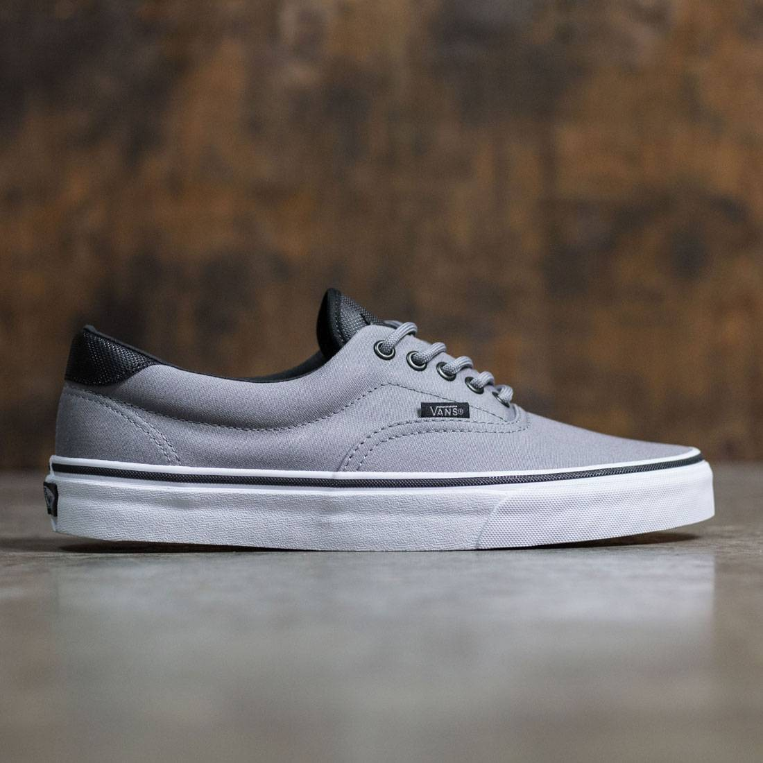 Vans Men Era 59 - Canvas gray white fc722184a