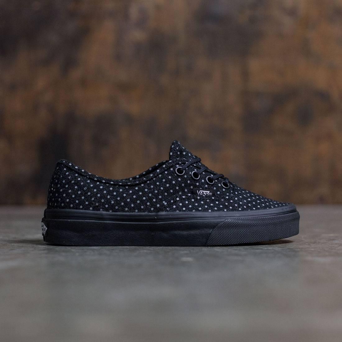 Vans Women Authentic black polka dot