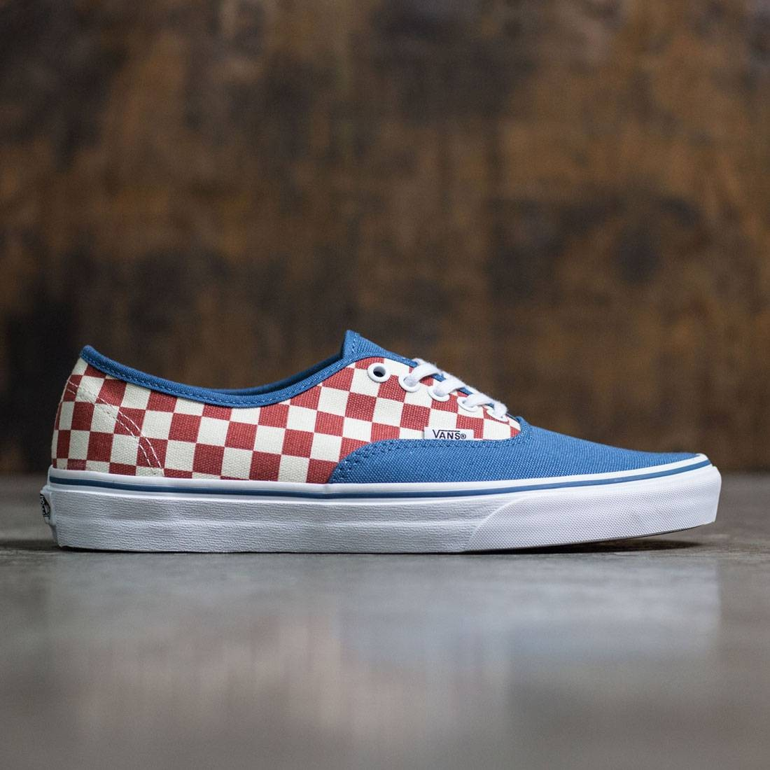 Vans Men Authentic - 50th Anniversary blue checkerboard 302f41e56fc