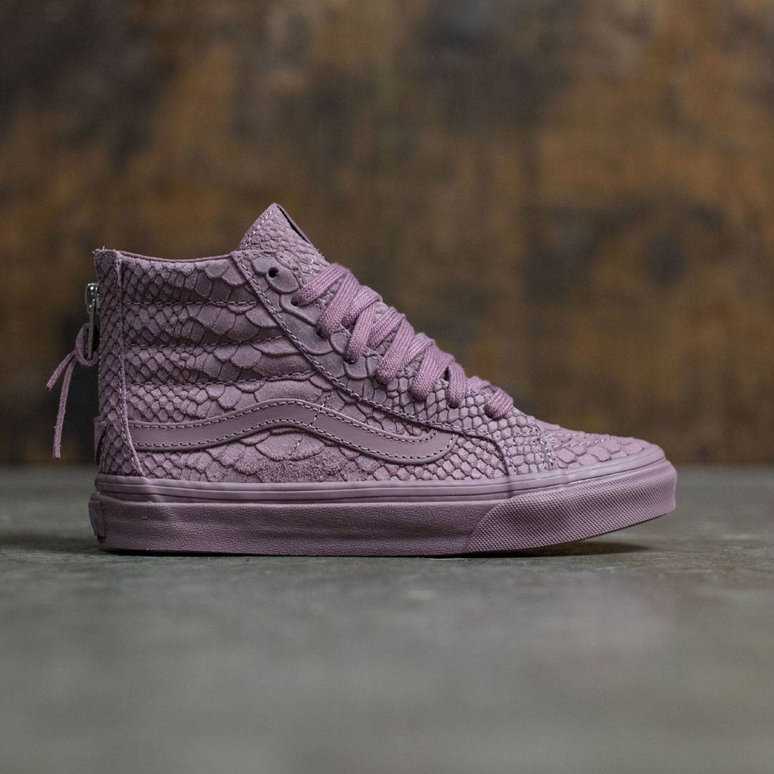 Vans Women SK8-Hi Slim Zip DX - Mono (purple / mauve)