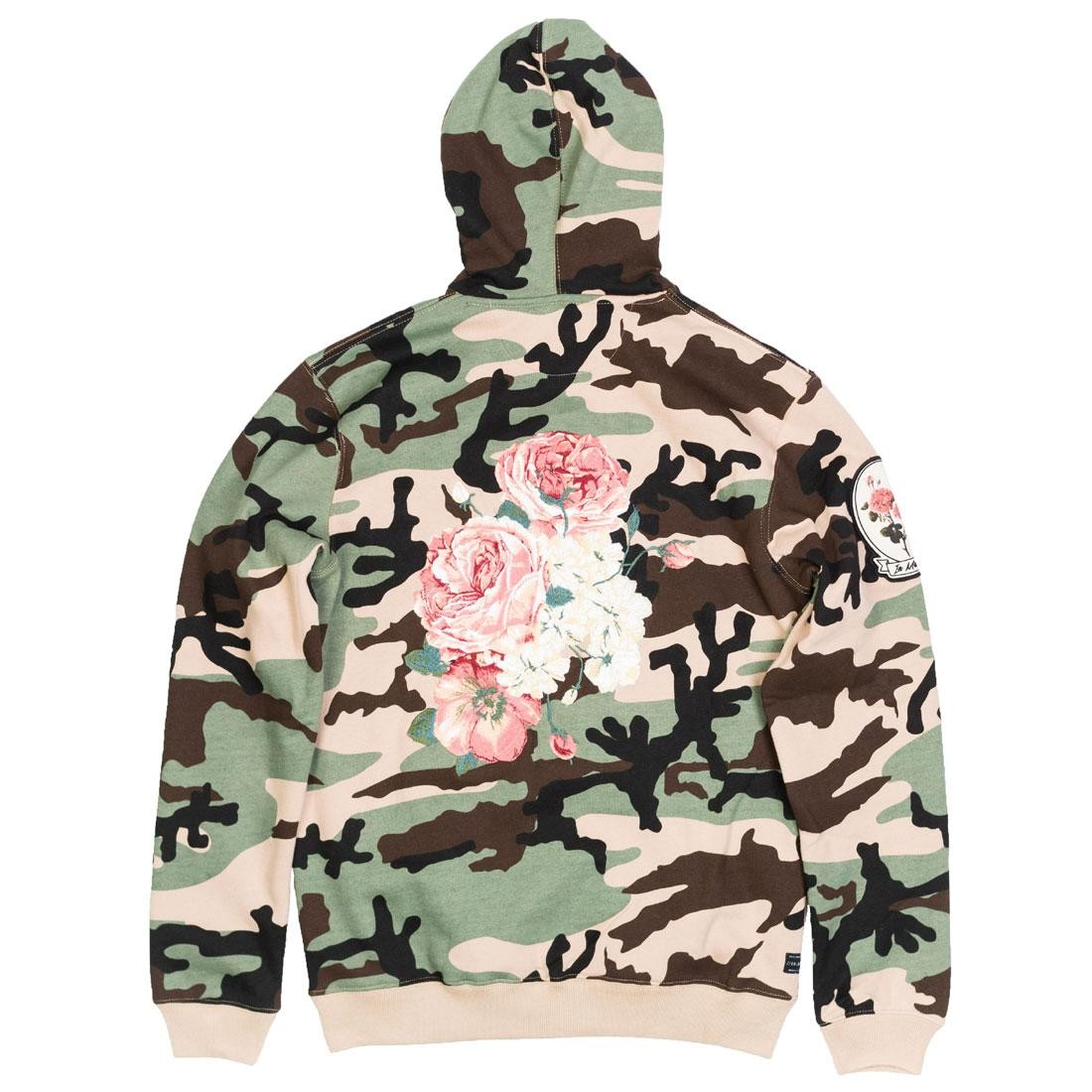 10 Deep Men Thinking Of Your Passing Hoody (camo / woodland)