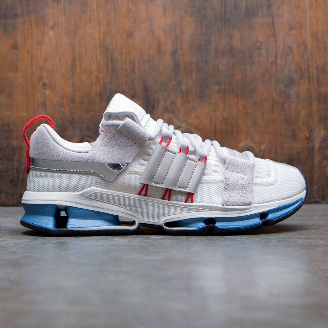 online store e61d1 74931 Adidas Consortium Men Twinstrike AD white off white clear on