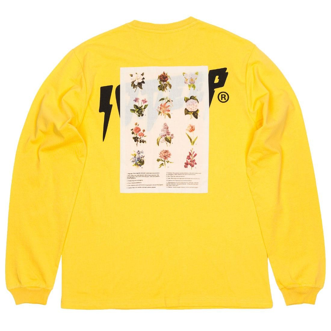 10 Deep Men Thinking Of You Long Sleeve Tee (yellow)