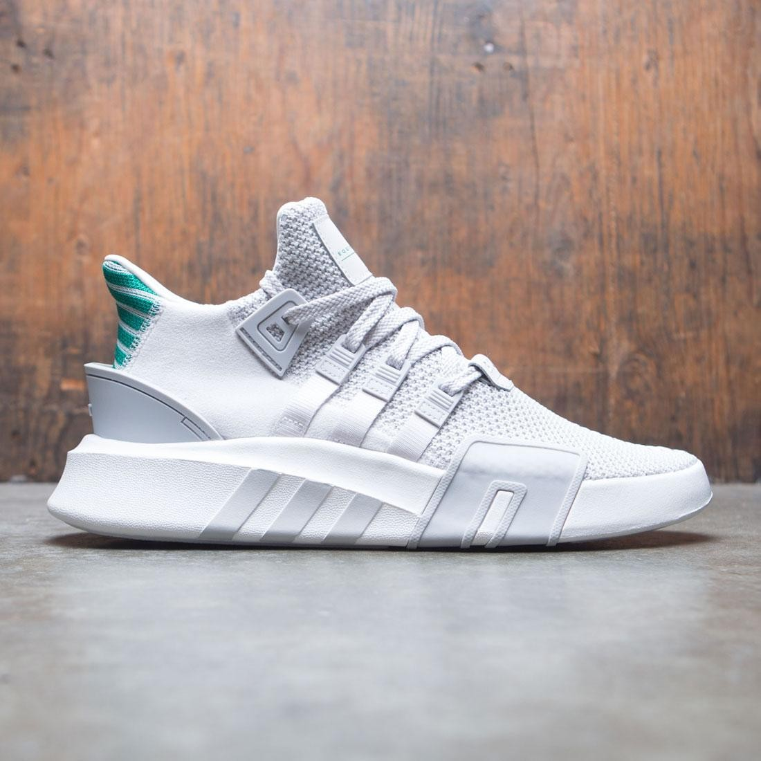 huge discount 81b62 96bb1 Adidas Men EQT Basketball ADV gray grey one sub green