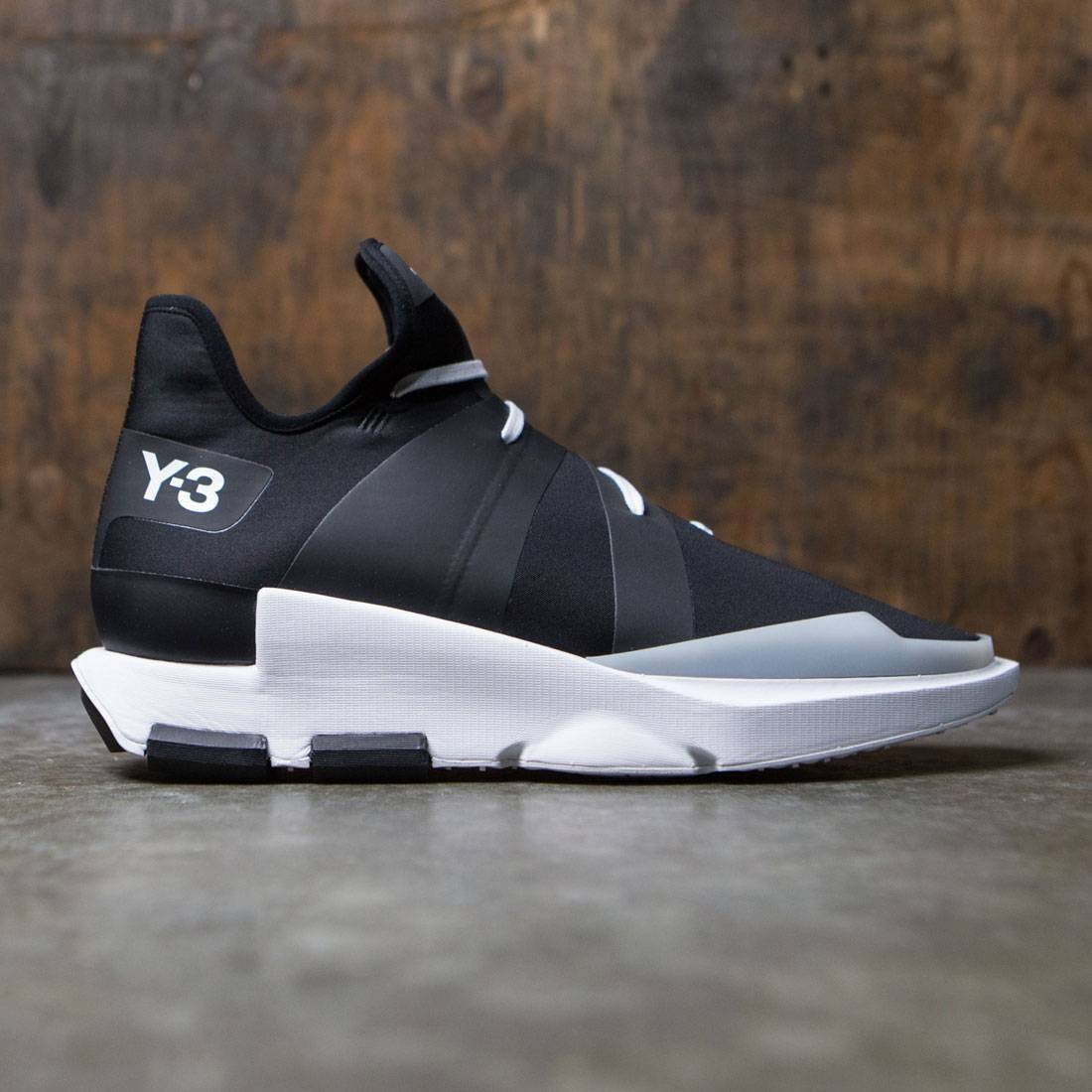 Adidas Y-3 Men Noci Low (black / core black / crystal white)