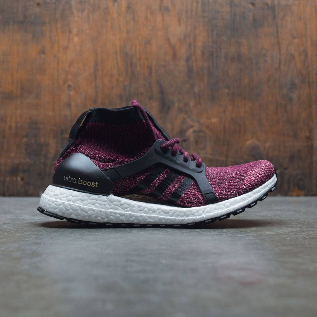 954328a482d9d Adidas Women UltraBOOST X All Terrain burgundy mystery ruby core black  trace pink