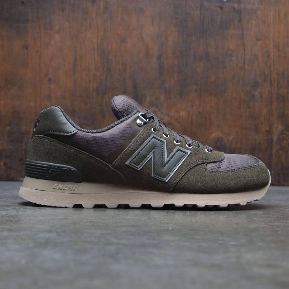 official photos 8be55 10494 New Balance Men 574 Outdoor Activist ML574PKT (olive / sand)