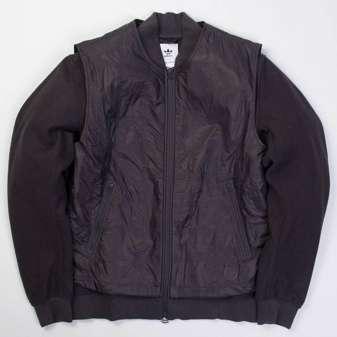 Adidas x Wings + Horns Men Bomber Jacket (black utility black)
