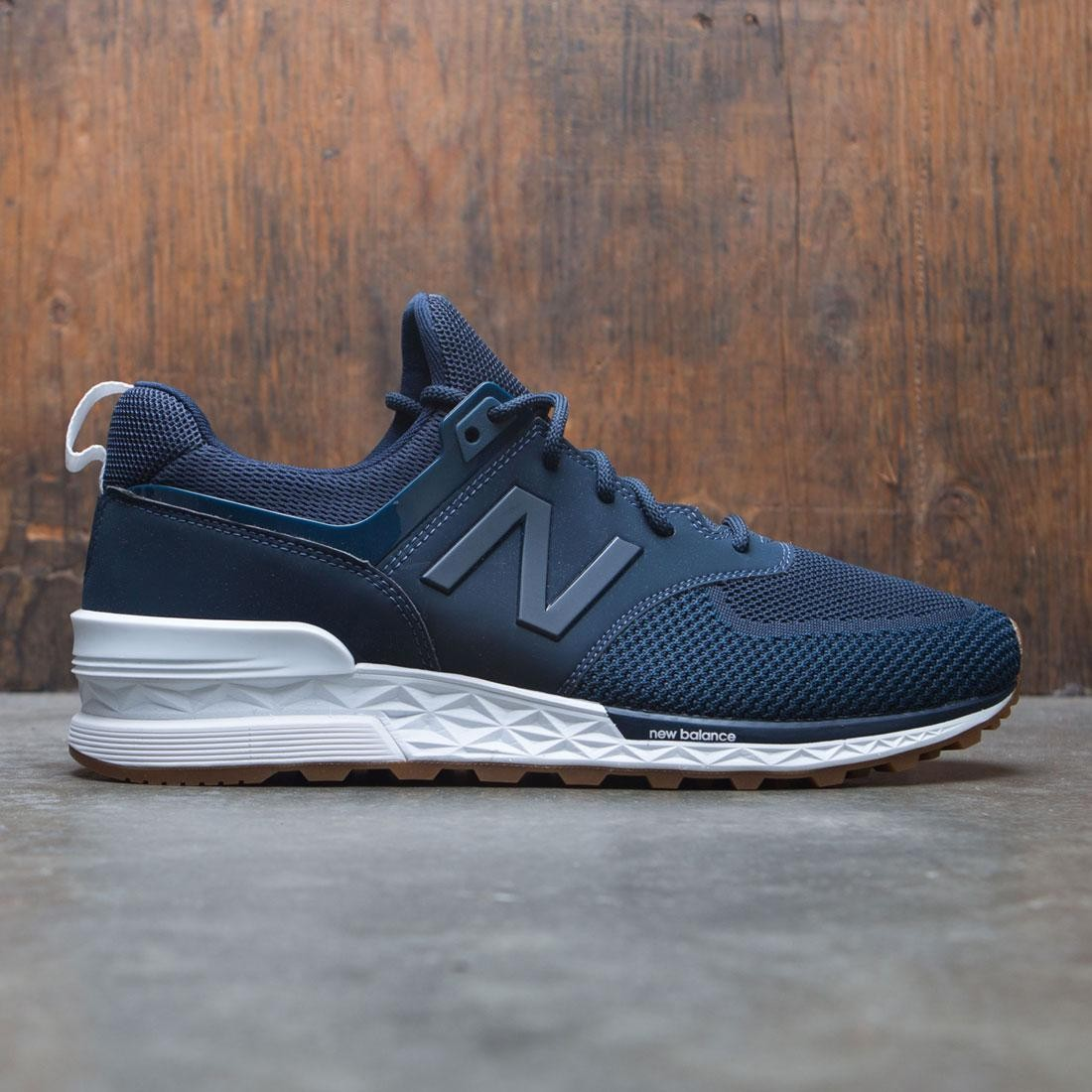 new product 8b50d 95723 New Balance Men 574 Sport MS574EMB (navy / vintage indigo / galaxy)