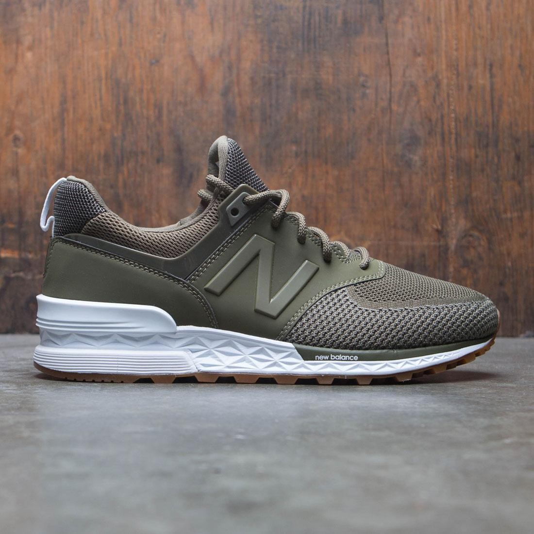 New Balance Men 574 MS574EMO (olive)
