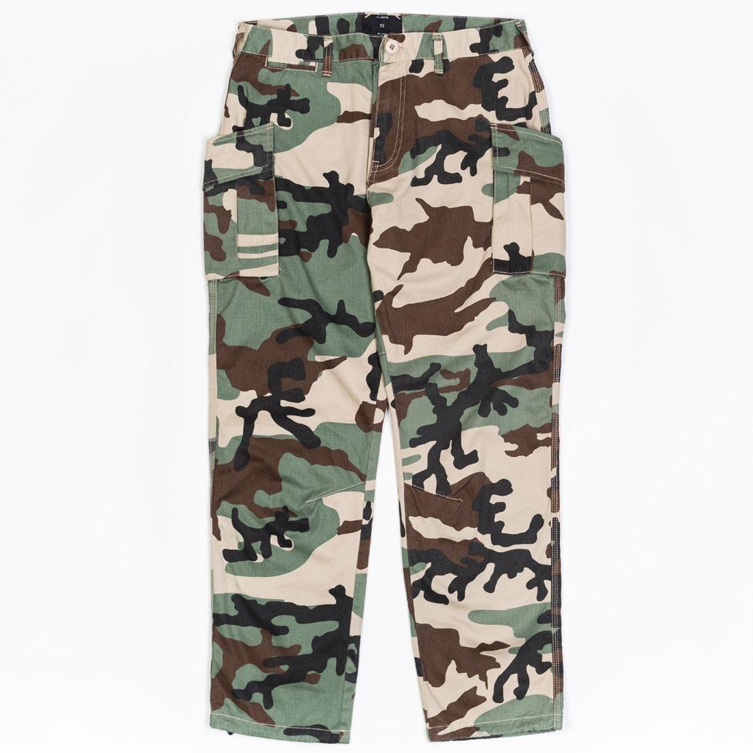 10 Deep Men Alpha Charlie Cargo Pants (camo / woodland)