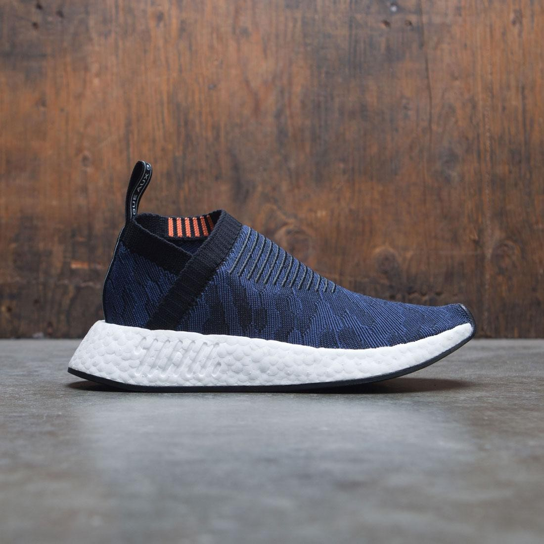 1aa0c868f35 Adidas Women NMD CS2 Primeknit W black noble indigo footwear white