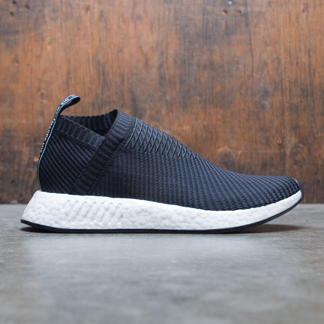 d5373183956 Adidas Men NMD CS2 Primeknit black carbon red solid