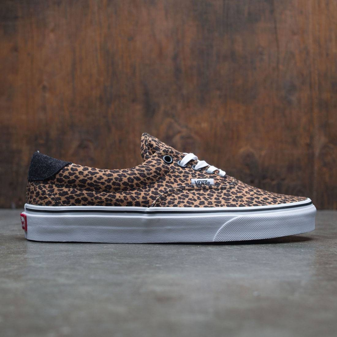 vans era leopardo