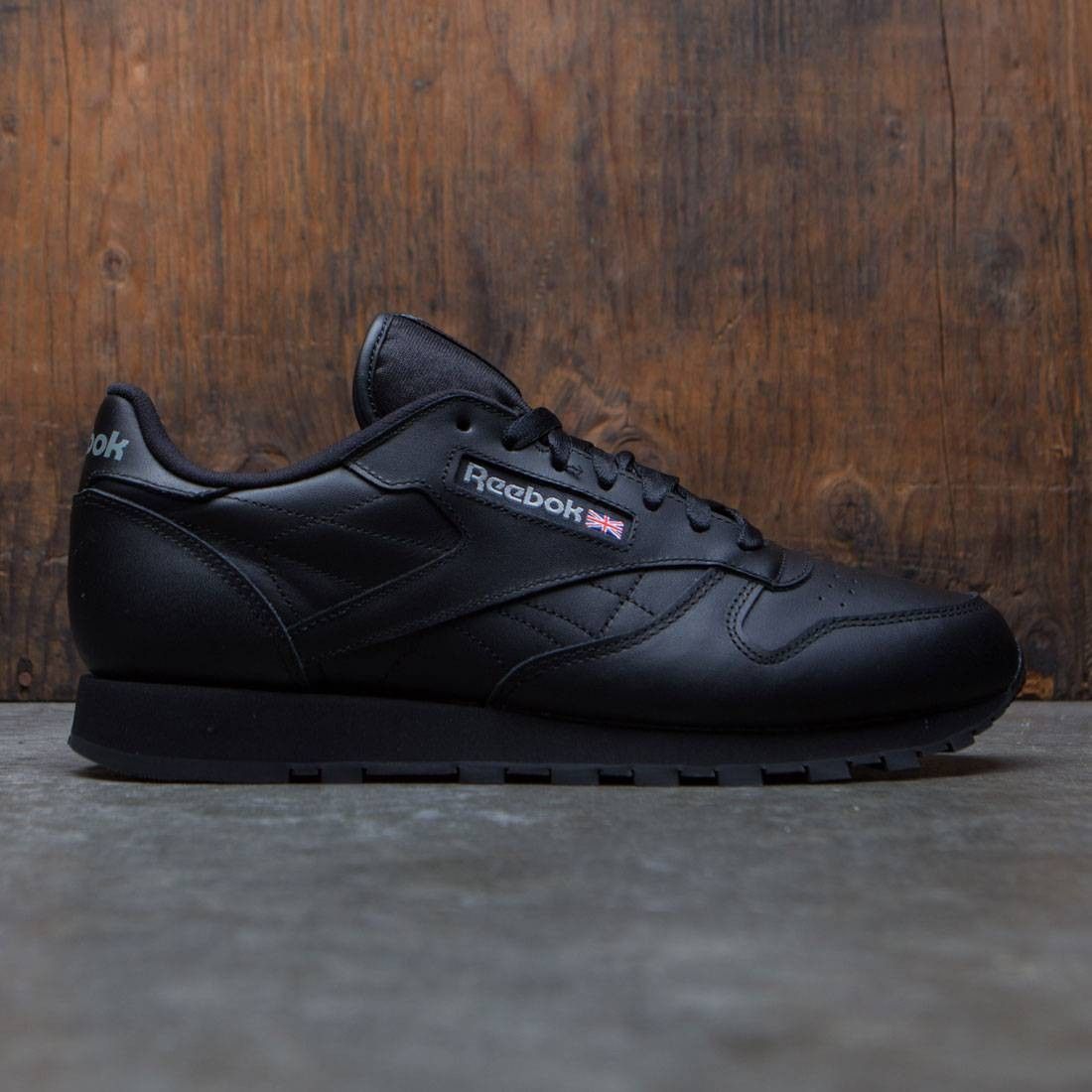 1e0f773ab5e0f Reebok Men Classic Leather black