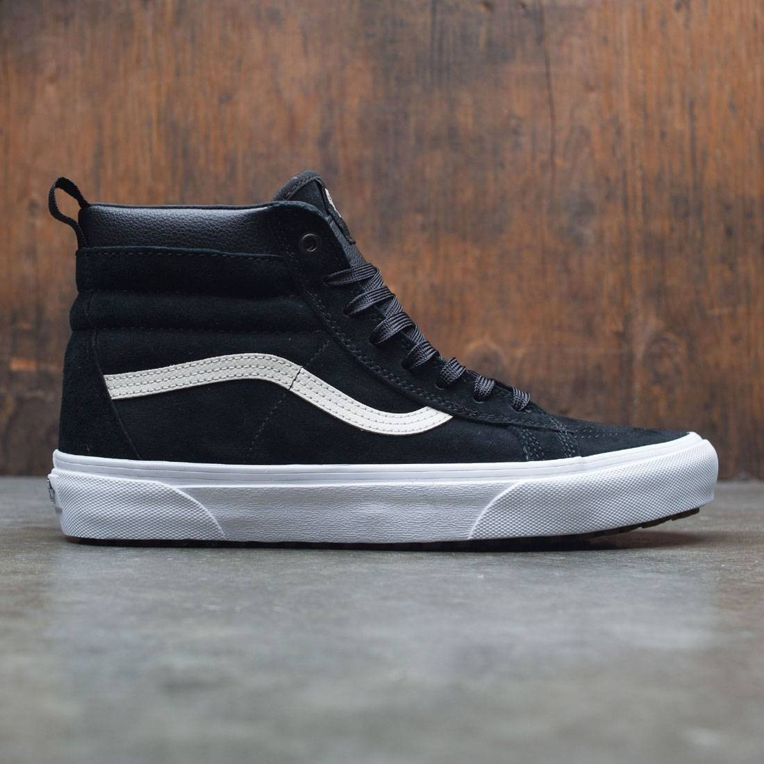 b126f7b8fb Vans Men SK8-Hi MTE black night