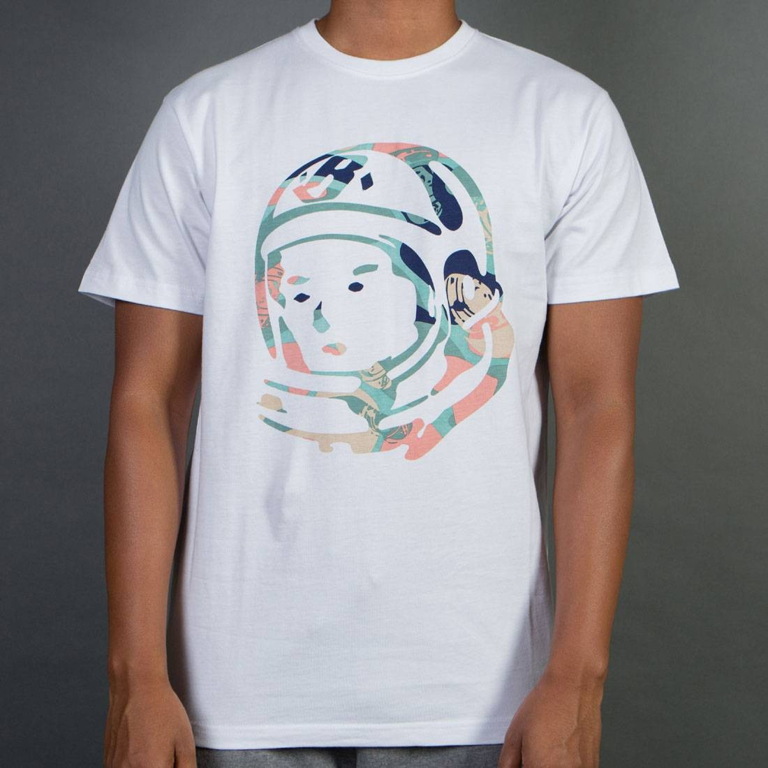 338f73003 Billionaire Boys Club Men BB Helmet Camo Tee white